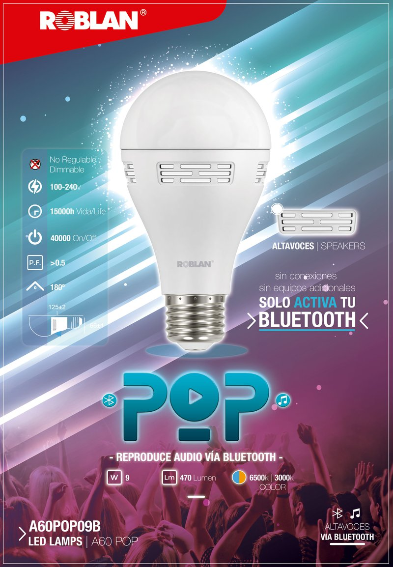 LED POP LAMP